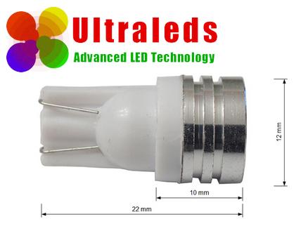 Żarówka LED W5W T10 1 PC 1.5 W High Power